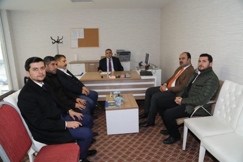 Başkan Nihat Çiftçi'den AK SKM'ye Ziyaret