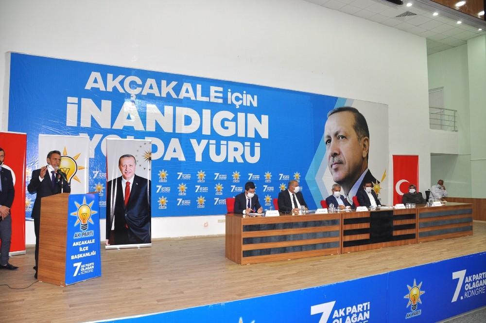 AK Parti Akçakale'de 7. olağan kongresini gerçekleştirdi