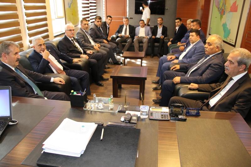 BBP Genel Başkanı Destic'den Başkan Demirkol'a Ziyaret