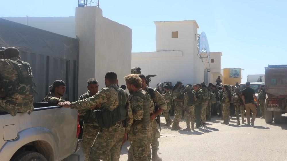Suriye Milli Ordusu, Tel Abyad'a 300 asker daha gönderiyor