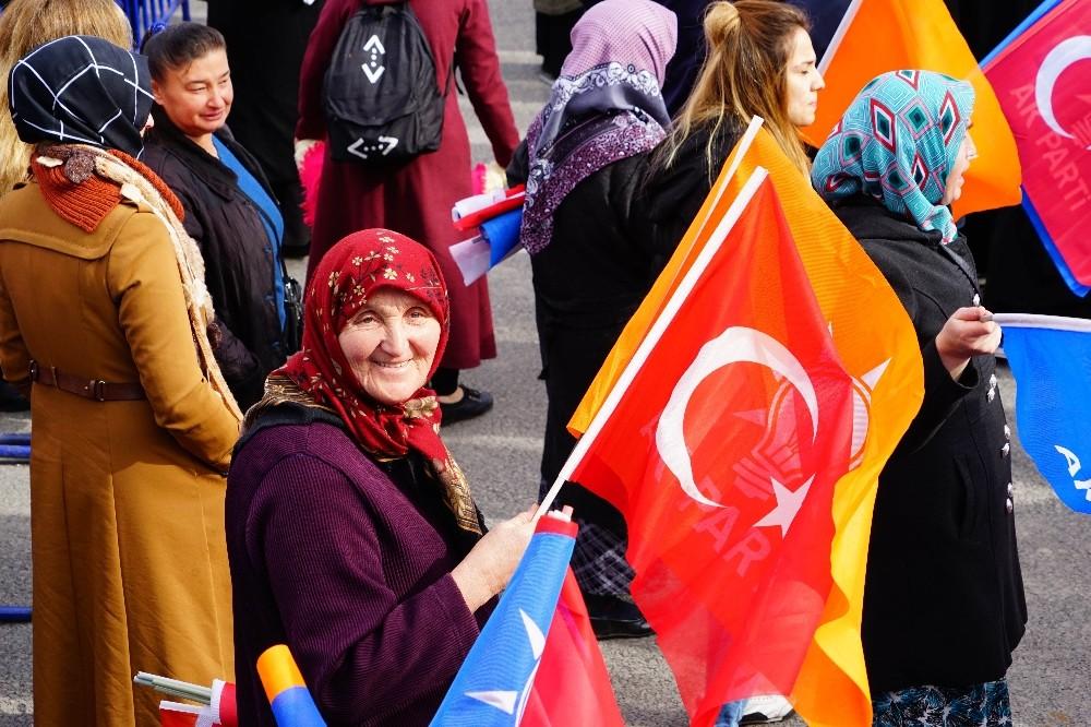 Cumhurbaşkanı Erdoğan: ″Biz Türkiye'yi 81 vilayetinin tamamıyla büyüttük, güçlendirdik″