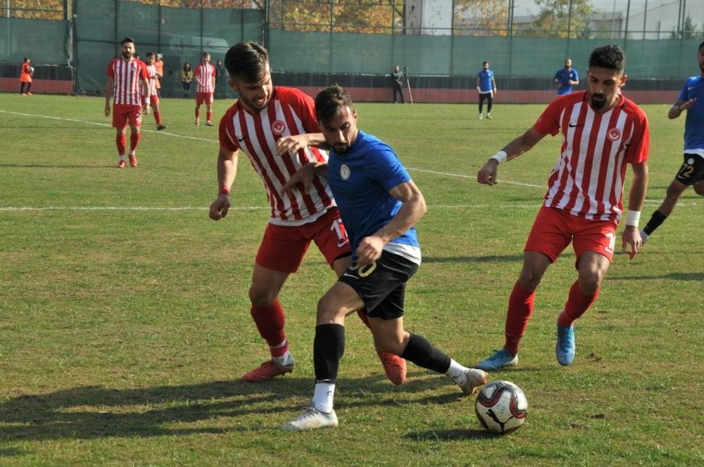 Karaköprü Belediyespor 3 puanı tek golle aldı
