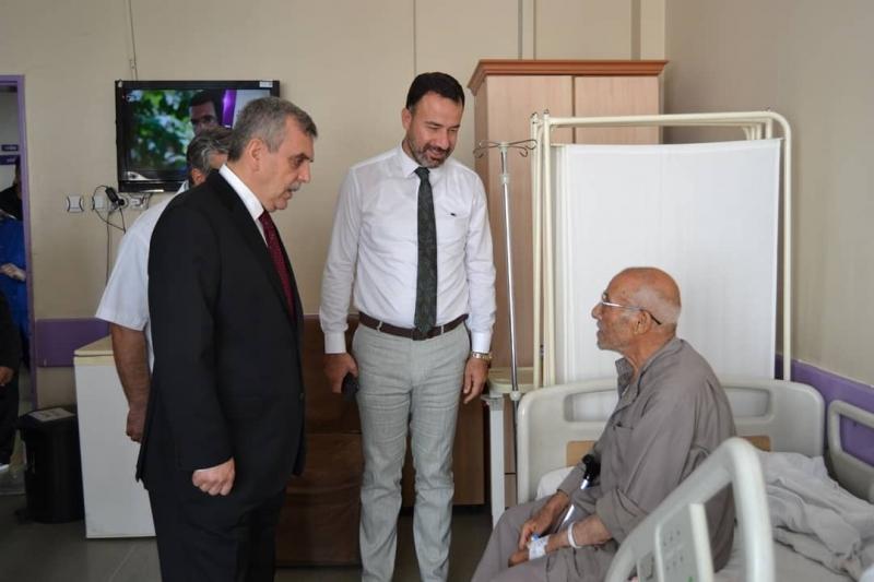 BEYAZGÜL den hasta ve hasta yakınlarına ziyaret