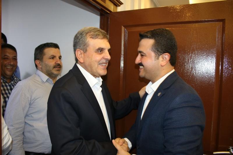 Beyazgül'den Başkan Yıldız'a Ziyaret