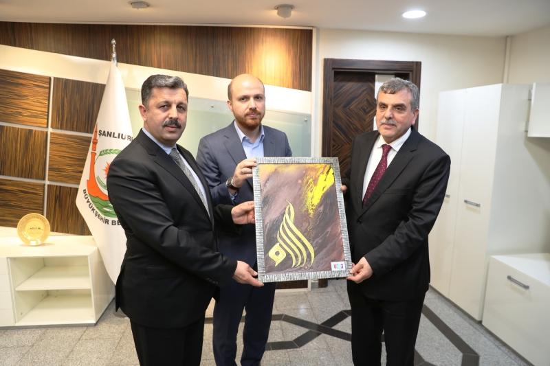 Bilal Erdoğan'dan Başkan Beyazgül'e Ziyaret