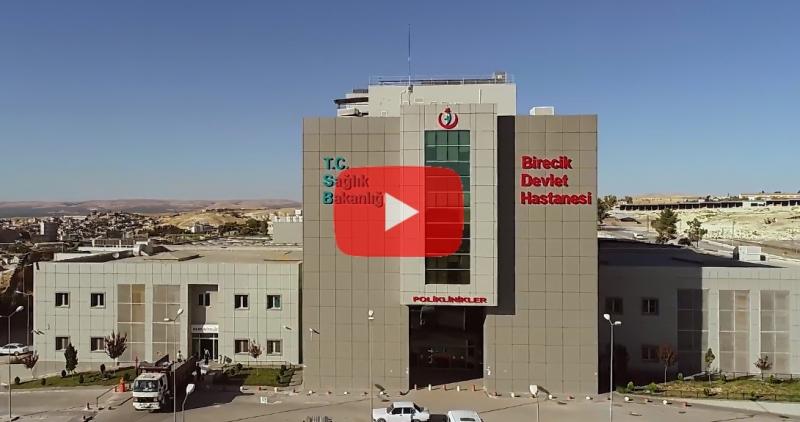 Birecik Devlet Hastanemizde ilk ve bölgede ender ameliyat.