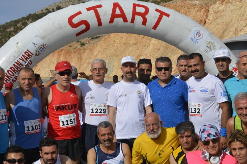 Birinci Takoran Yarı Maratonu Tamamlandı