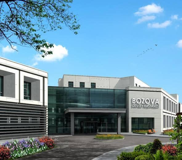Bozova Devlet Hastanesi Tefrişat planlamaları yapıldı.