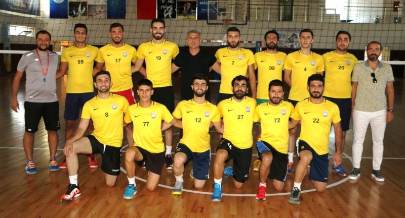 Büyükşehir Belediyesi Voleybol Takımı Yeni Sezonda Hazırlıklarına Başladı