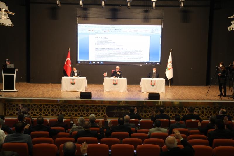 Büyükşehir Meclisi yılın ilk oturumunu gerçekleştirdi