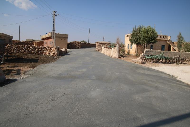 Büyükşehir'den Akçakale'ye Tarihinde İlk Beton Yol