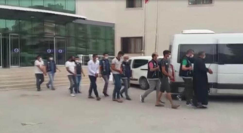 Şanlıurfa'da uyuşturucu operasyonu: 16 tutuklama
