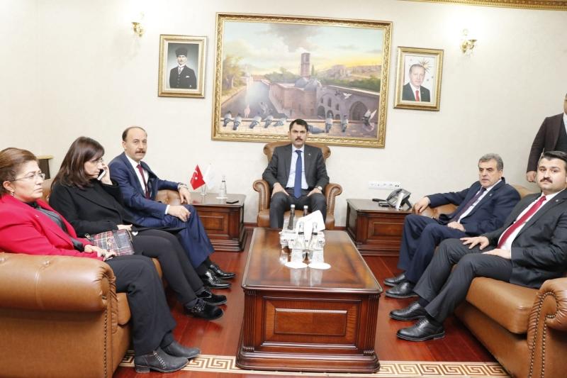Çevre Ve Şehircilik Bakanı Murat Kurum İncelemelerini Tamamladı