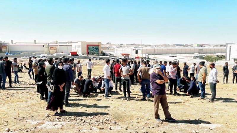 CHP İl Şanlıurfa Başkanı Cidir'den İşçilere Destek