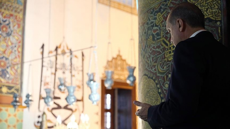 Cumhurbaşkanı Erdoğan 100 Bin Kişiyle Duaya Katıldı