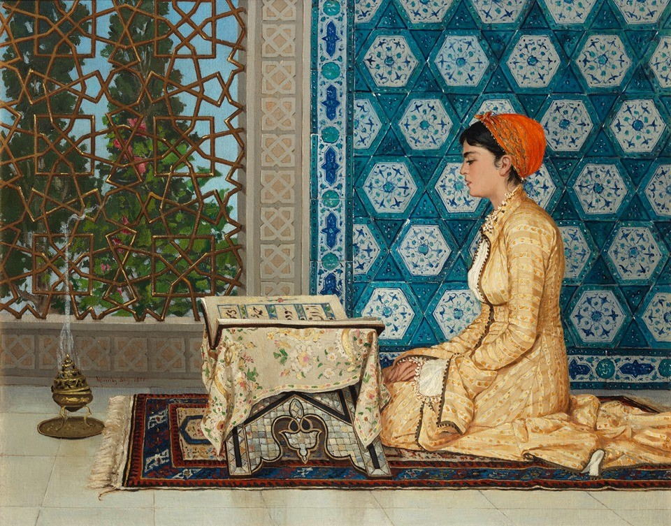 Kur'an Okuyan Kız tablosu 6.3 milyon sterline alıcı buldu.