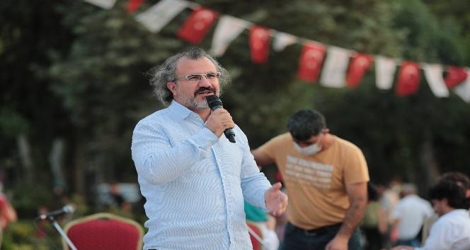 Eğitimci Yazar Sıtkı Aslanhan Şanlıurfa'da gençlerle buluştu