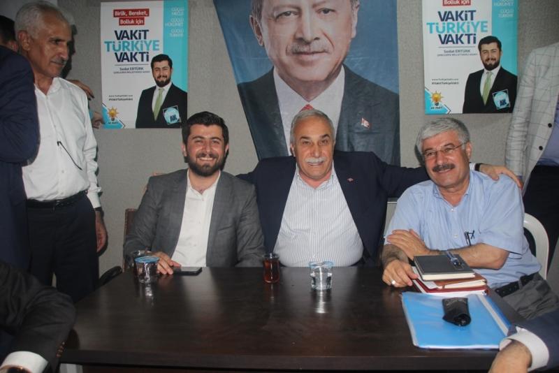 Ertürk ün Seçim Bürosunun Açılışı Mitinge Dönüşü