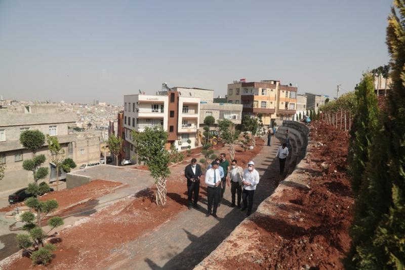 Eyyübiye Belediyesi ilçeye kimlikli parklar kazandırıyor