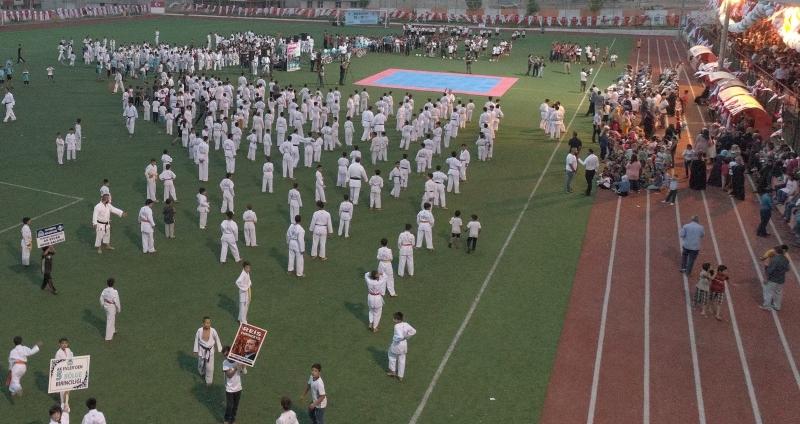 Eyyübiye Belediyesi Binlerce Gençle Spor Şenliği Düzenledi