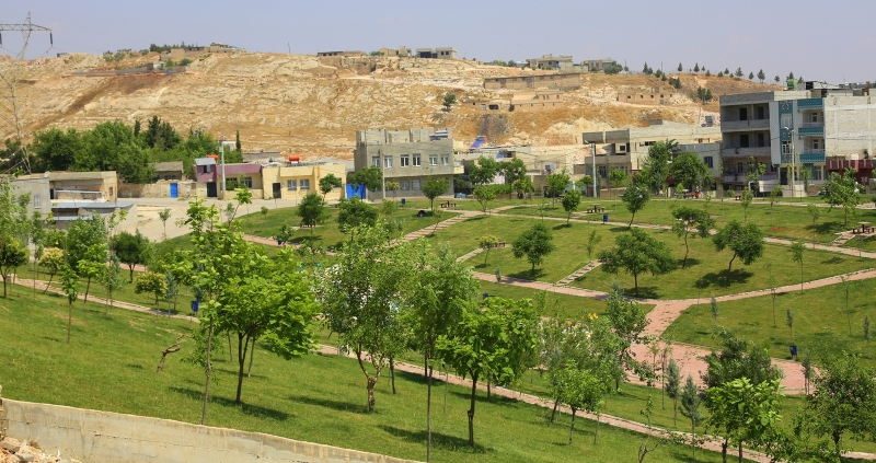 Eyyübiye Belediyesi İlçede Park Seferberliği Başlattı