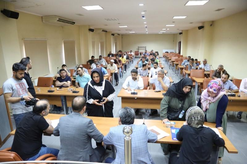 Eyyübiye Belediyesi Halk Günü Düzenledi Vatandaşlar Taleplerini Aktardı