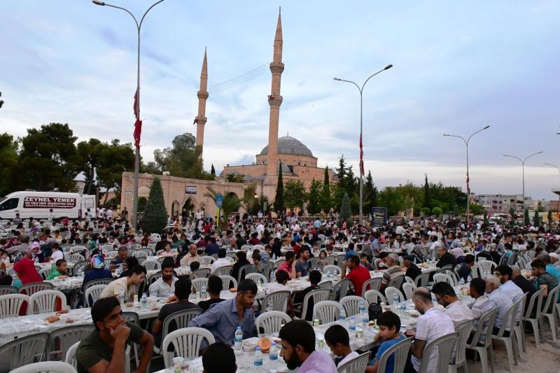 Eyyübiyeliler Büyükşehirin Kardeşlik Sofrasında Buluştu