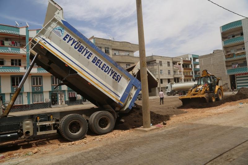 Eyyübiye'ye Devasa Yeni Park Yapımı Başladı