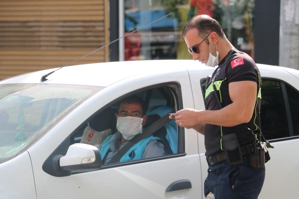 Şanlıurfa'da kısıtlamalara uymayan 909 kişiye para cezası kesildi