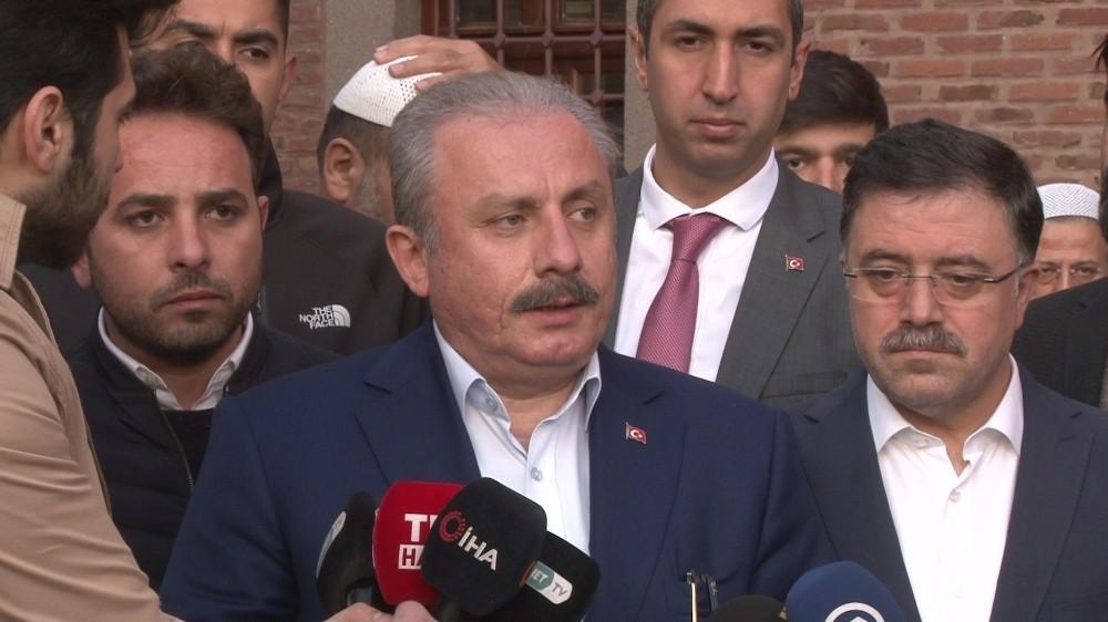 Hacı Bayram Camii'nde Barış Pınarı Harekatı için dualar edildi