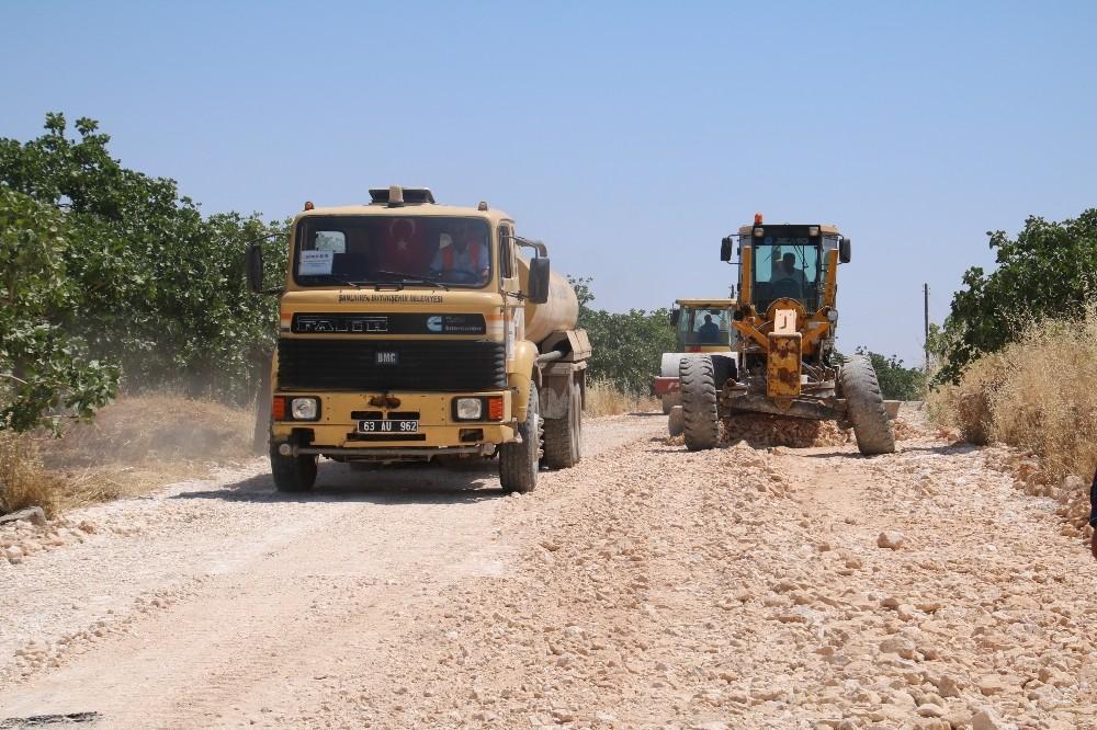 Şanlıurfa'da kırsal yollara yoğun bakım