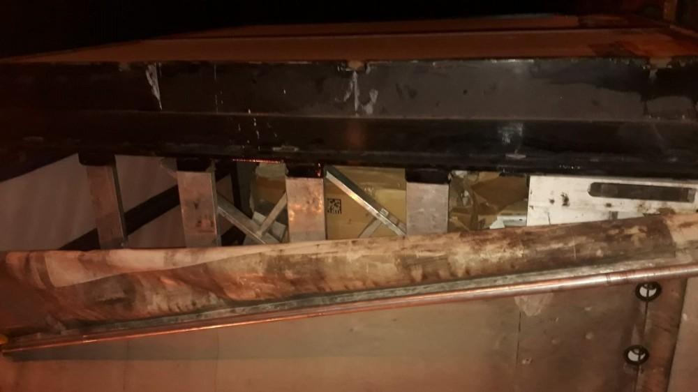 Şanlıurfa'da gümrük kaçağı sigara operasyonu