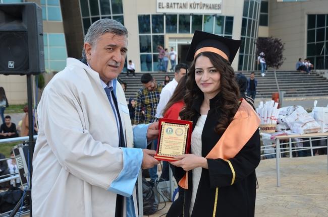 Fen-Edebiyat Fakültesinde Mezuniyet Töreni Yapıldı