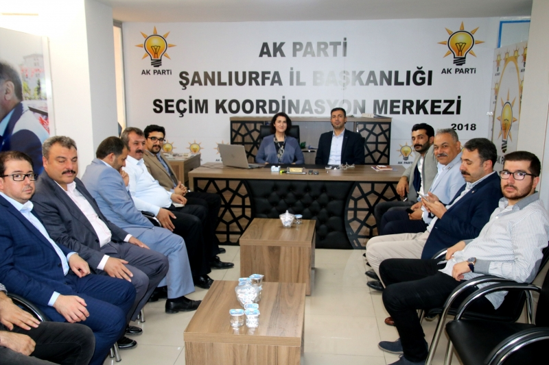 Gülender Açanal, Ak Parti SKM'yi Ziyaret Etti
