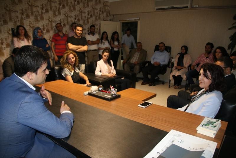 Gülender Açanal'dan STK'lara Ziyaret