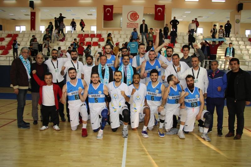 Haliliye Basketbol Takımı Play-Off'da Avantajı Yakaladı