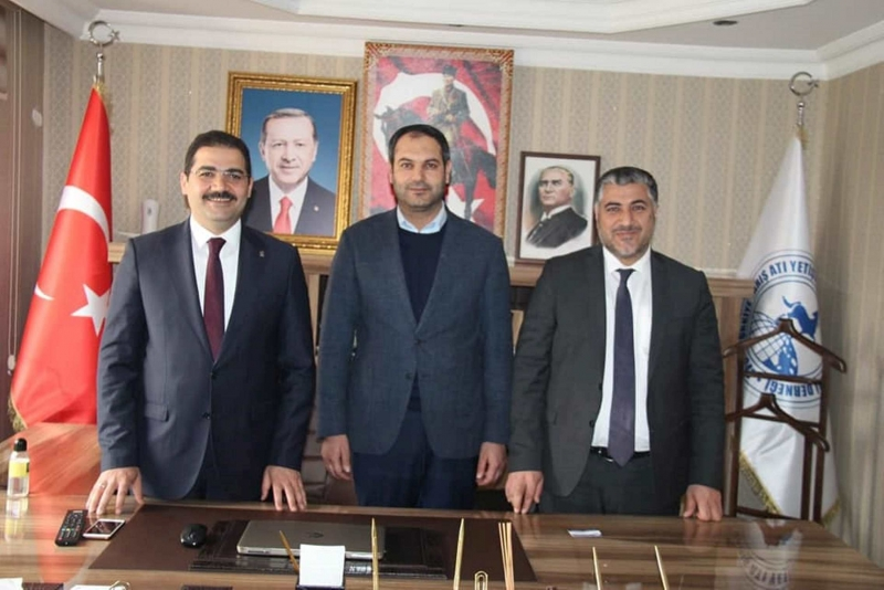 Haliliye Belediye Başkan adayı Mehmet Canpolat destek arayışında