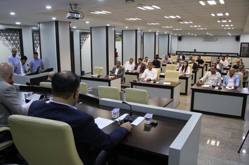 Haliliye Belediye Meclisi Haziran Ayı 1. Birleşimi Gerçekleştirildi