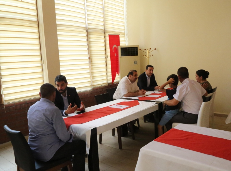 Haliliye Belediyesi Haziran Ayı Halk Günü Toplantısı Yapıldı
