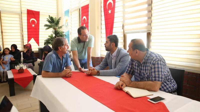 Haliliye Belediyesinde Ağustos Ayı Halk Günü Toplantısı Yapıldı