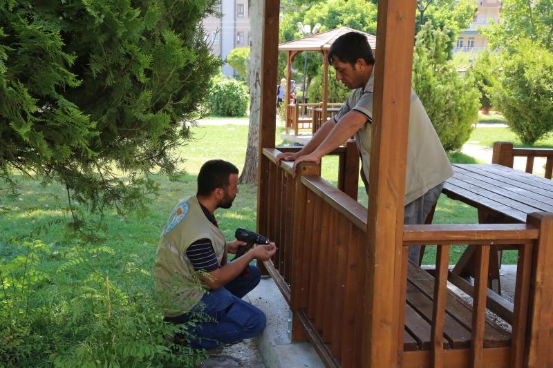 Haliliye Belediyesinde Ekipler Tam Kadro Sahada