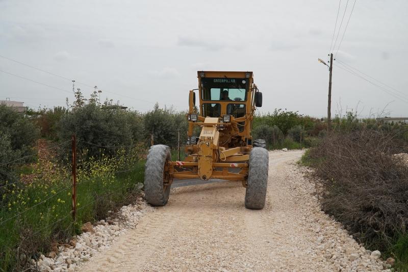Haliliye Belediyesin'den Kırsalda 4 Mahallede Yol Çalışması