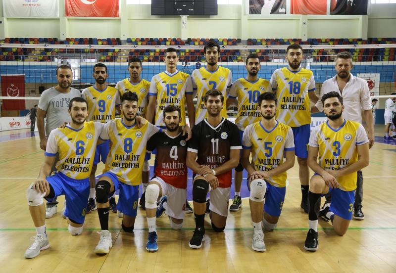Haliliye Belediyespor Volaybol Takımından 3-1'Lik Galibiyet