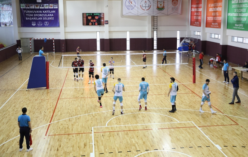 Haliliye Voleybol Takımından 3-0'lık Galibiyet