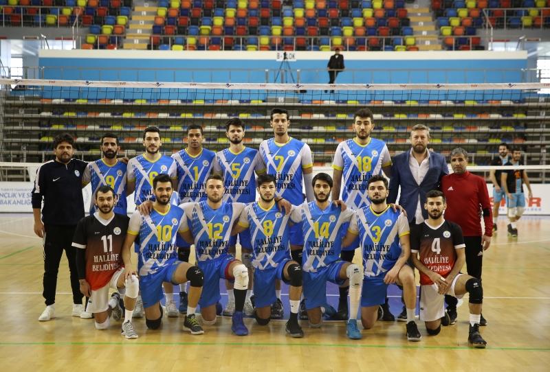 Haliliye Voleybol Takımı Payas'ı 3-0 Mağlup Etti