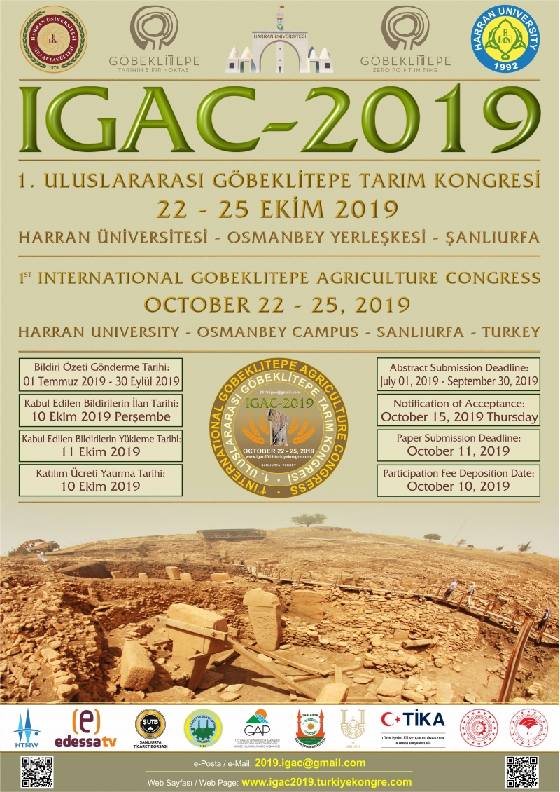 Harran Üniversitesi Uluslararası Göbeklitepe Tarım Kongresine Ev Sahipliği Yapacak