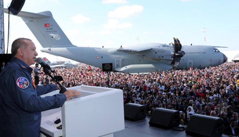 Havacılık, Uzay ve Teknoloji Festivali göz doldurdu