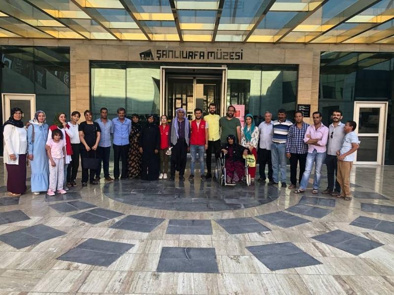 Hemodiyaliz Hastalarına Müze Gezisi.