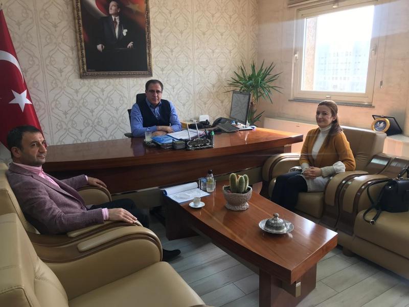 Hilvan Yerel Kalkınma Stratejisi Koordinatöründen Vali Yardımcısı'na Ziyaret
