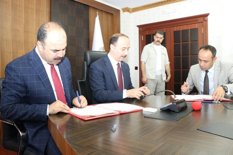 Hilvan'da Kütüphane İçin Protokol İmzalandı